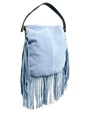 ASOS | ASOS Suede Fringe Shoulder Bag at ASOS