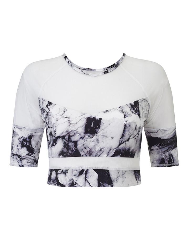 Walgrove Granite Haze Crop - BRAS - Shop   Women's Activewear Combining Performance and Style