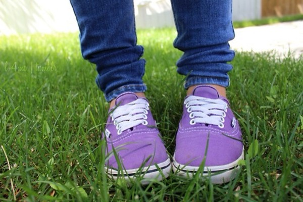 shoes purple