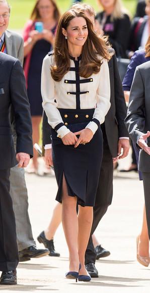 skirt kate middleton blouse