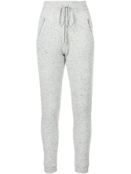 Baja East pants women grey