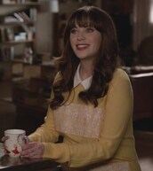 sweater,yellow,embroidered,zooey deschanel,jessica day,new girl