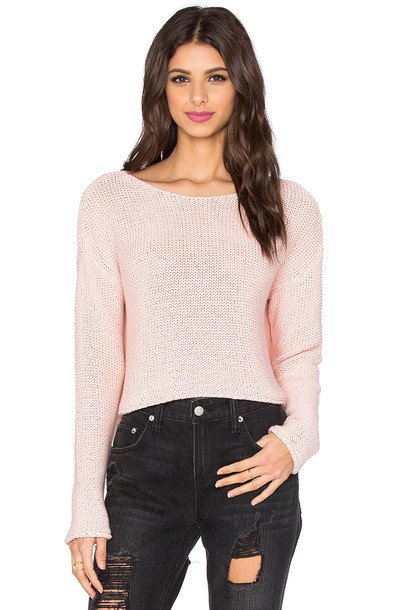 360 Sweater sweater pink