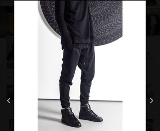 pants sweatpants black style menswear mens pants hipster menswear