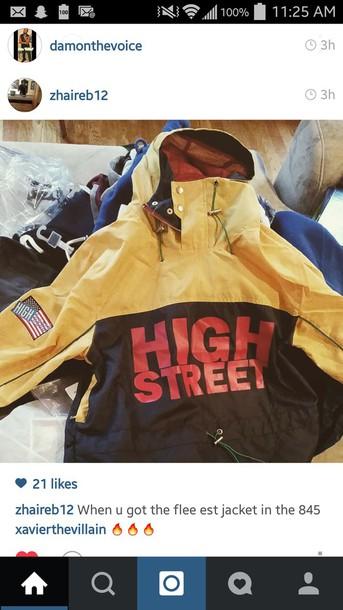 coat highstreet store raincoat
