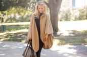 krystal schlegel,blogger,bag,nail polish,poncho,camel