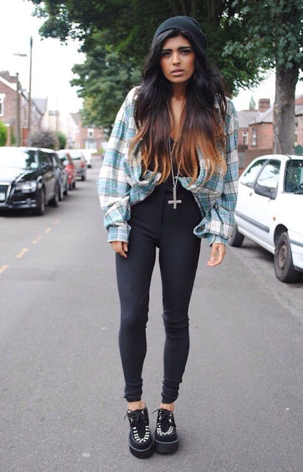 jeans grunge hipster 90s style jewels jacket shirt shoes blouse