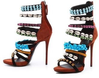shoes high heel sandals multicolor high heels giuseppe zanotti sandal heels exotic shoes