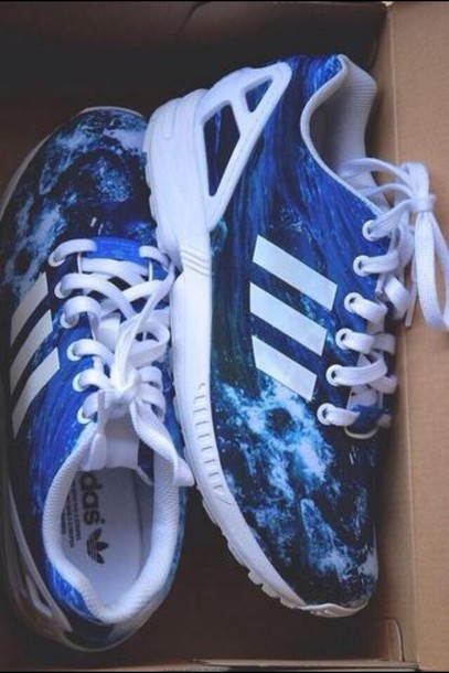 Adidas Flux Ocean Waves