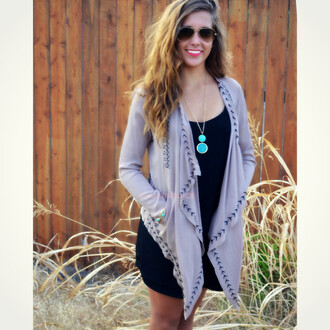 cardigan tribal cardigan fall cardigan trendy amazing mocha cardigan open front cardigan