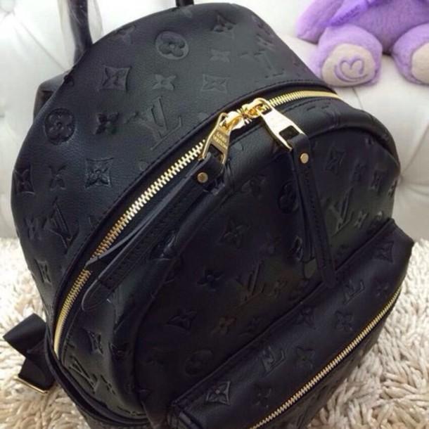 f2a2fb7a73e5 bag louis vuitton black style louis vuitton backpack designer louis vuitton  bag