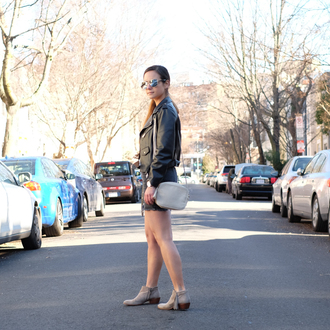 district dress up blogger ankle boots