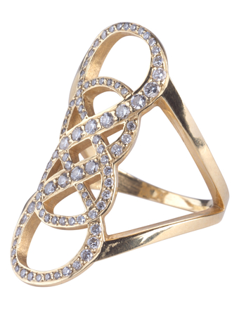 Double Infinity Ring - Tara Hirshberg Jewelry