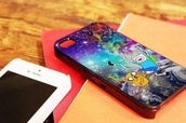 bag,the adventure time,iphone cover,iphone case