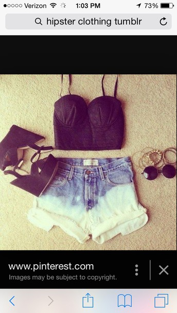 shorts shoes top