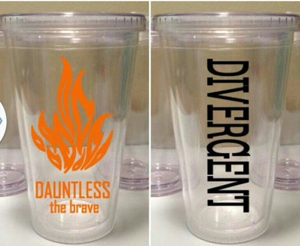 home accessory cup dauntless divergent brave