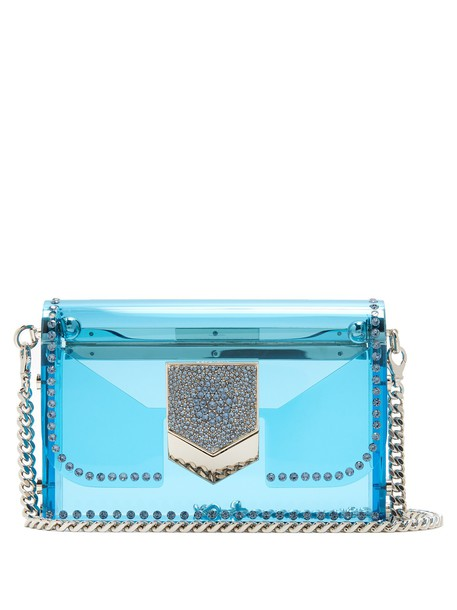Jimmy Choo cross bag blue