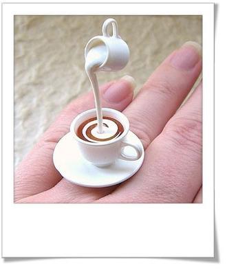jewels bagues cafe tasse