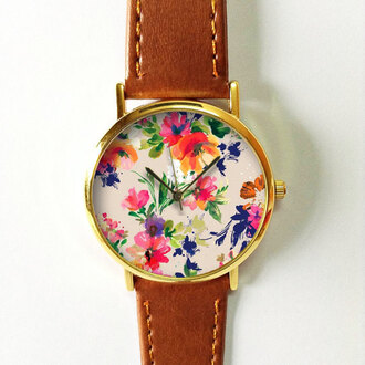 jewels watch handmade style fashion vintage etsy freeforme floral flowers summer spring gift ideas new
