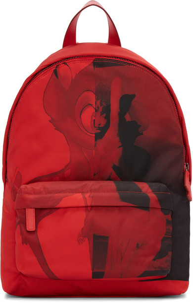 Givenchy backpack red bag
