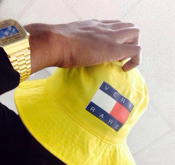 hat bucket hat yellow tommy hilfiger swag urban hat bucket yellow now 31905645122