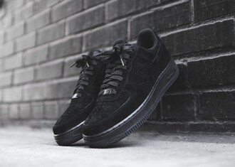 shoes nike nike air force 1 low nike shoes black nike air force 1 low sneakers suede sneakers