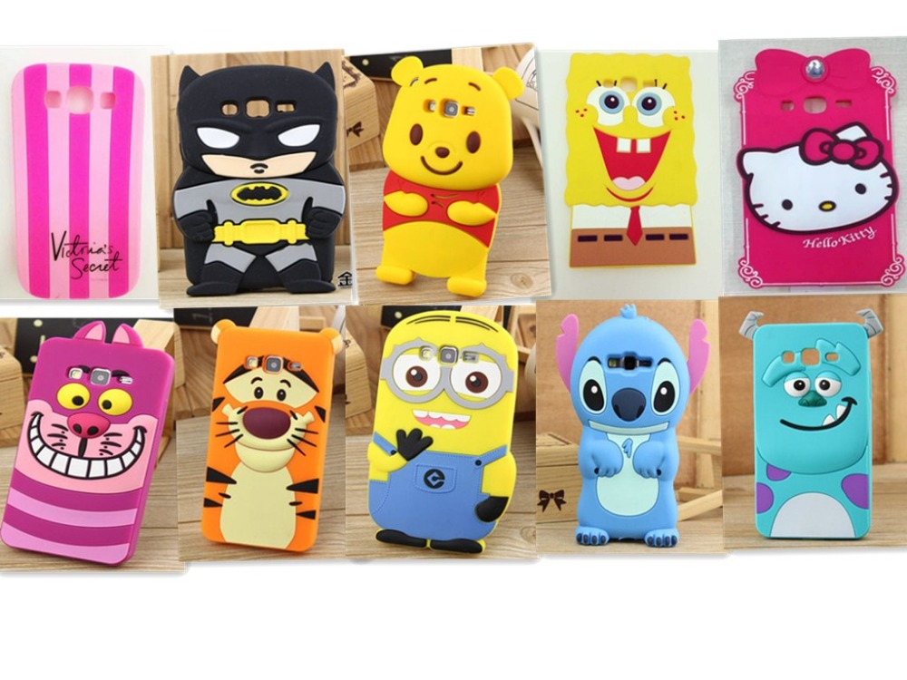 reputable site 011a0 224e3 Phone Case For Samsung Galaxy Grand Prime G530 G530h 3D diverse images  silicone phone Back Cover Cases For Samsung G530 G530H-in Phone Bags &  Cases ...