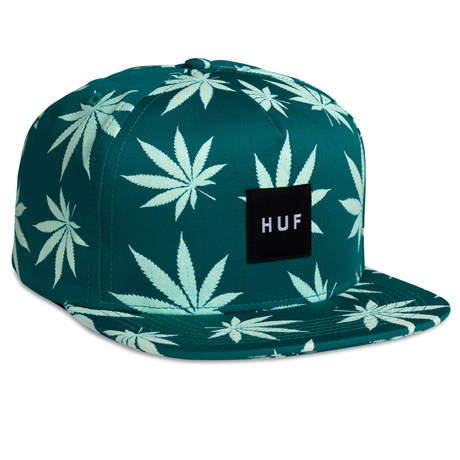 HUF | GLOW IN THE DARK PLANTLIFE SNAPBACK
