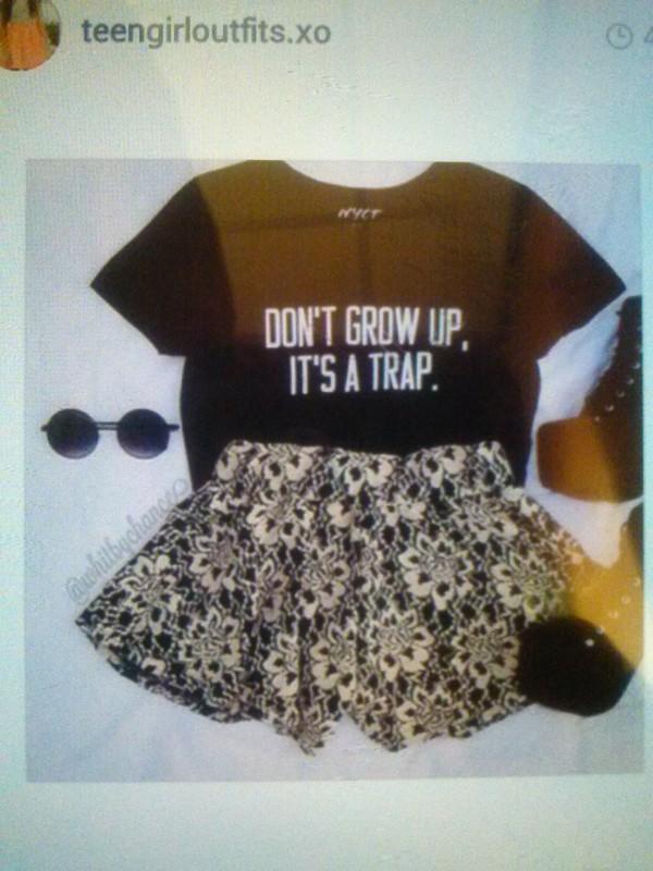 t-shirt sunglasses t-shirt