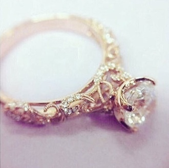 jewels ring engagement ring wedding ring wedding romantic gold silver
