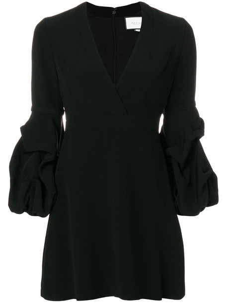 Alexis dress women spandex black
