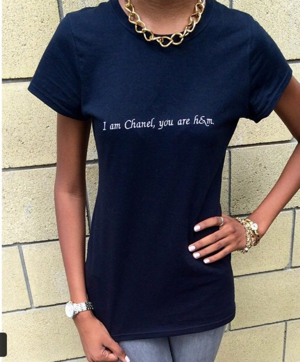 t-shirt chanel h&m