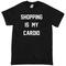 Shopping is my cardio t-shirt - basic tees shop