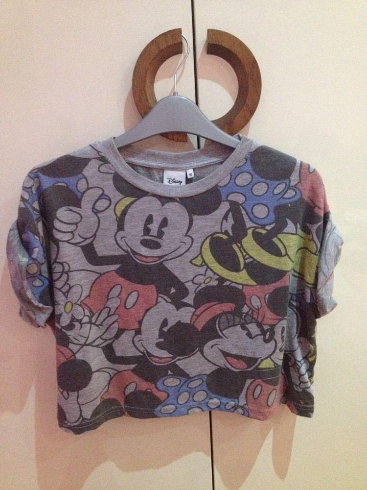 Disney mickey cropped tshirt