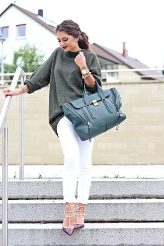 fashionhippieloves blogger jeans bag jewels khaki