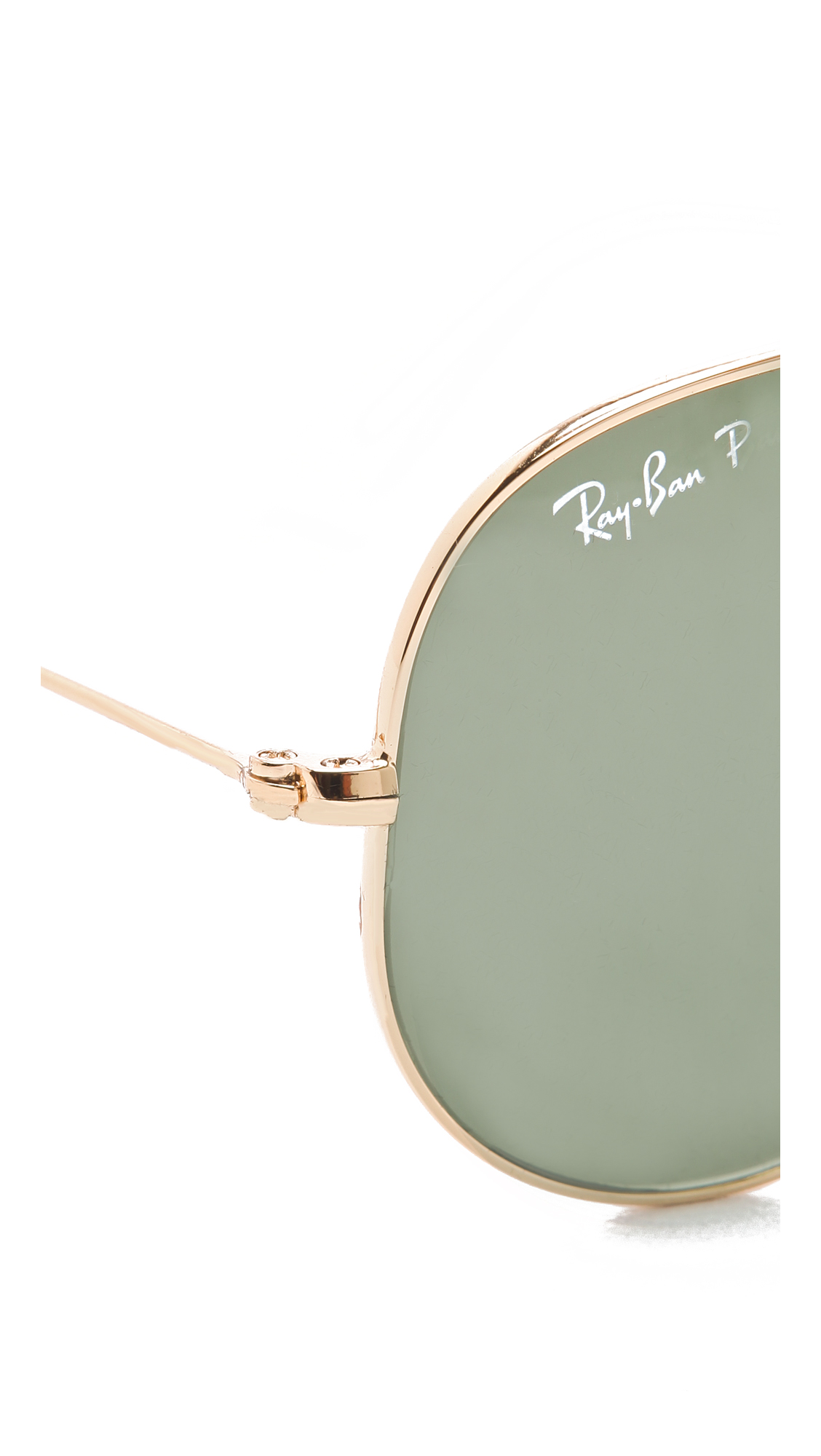 Ray-Ban Polarized Aviator Sunglasses | SHOPBOP