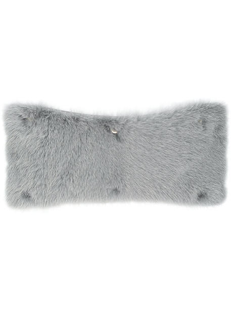 Valextra fur women bag grey