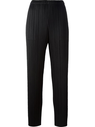 Pleats Please By Issey Miyake High-waisted Trousers - Bernardelli - Farfetch.com