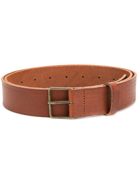 Forte Forte women classic belt leather brown