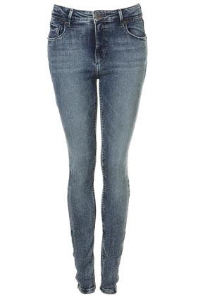 Moto acid wash jamie jeans