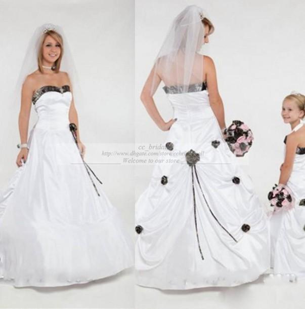 dress, cc_bridal, camo jacket, wedding dress, wedding, plus ...
