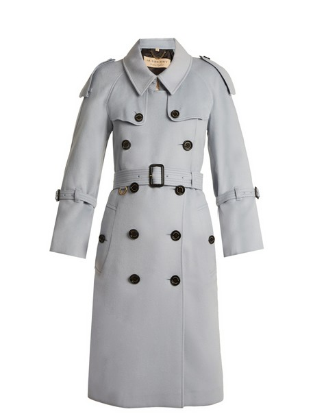 Burberry coat trench coat light blue light blue