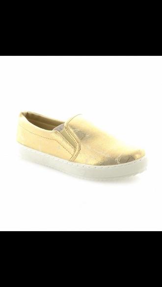shoes golden vans sneakers