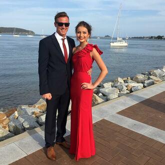dress red dress red formal dress