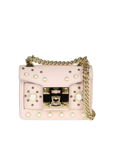 Salar pearl bag leather pink pink leather