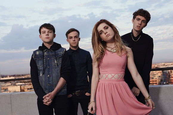 dress girl cutout skater dress echosmith