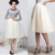 ANTHROPOLOGIE Karinska Tulle Skirt ivory cream 6 Waist 29 | eBay