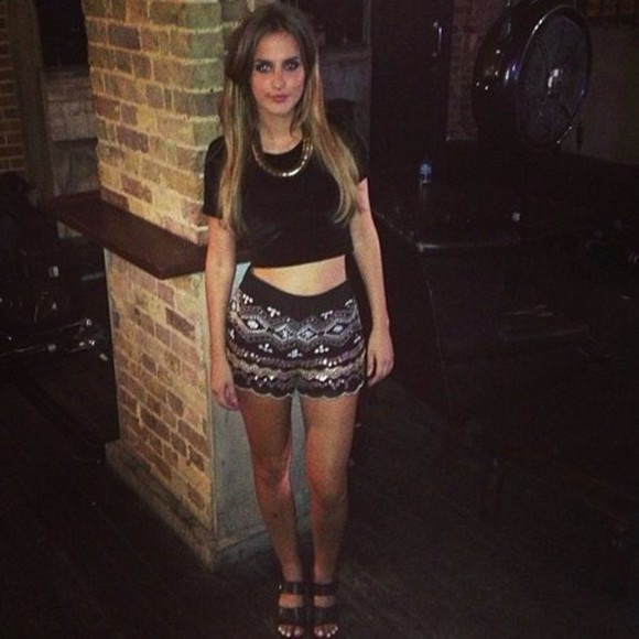 aztec black lucy watson Made in Chelsea