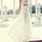 Custom made white chiffon long prom dresses, evening dresses - 24prom