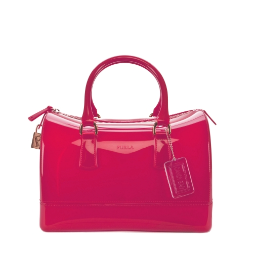 CANDY Satchel   Dragon Fruit View all - Furla - United States